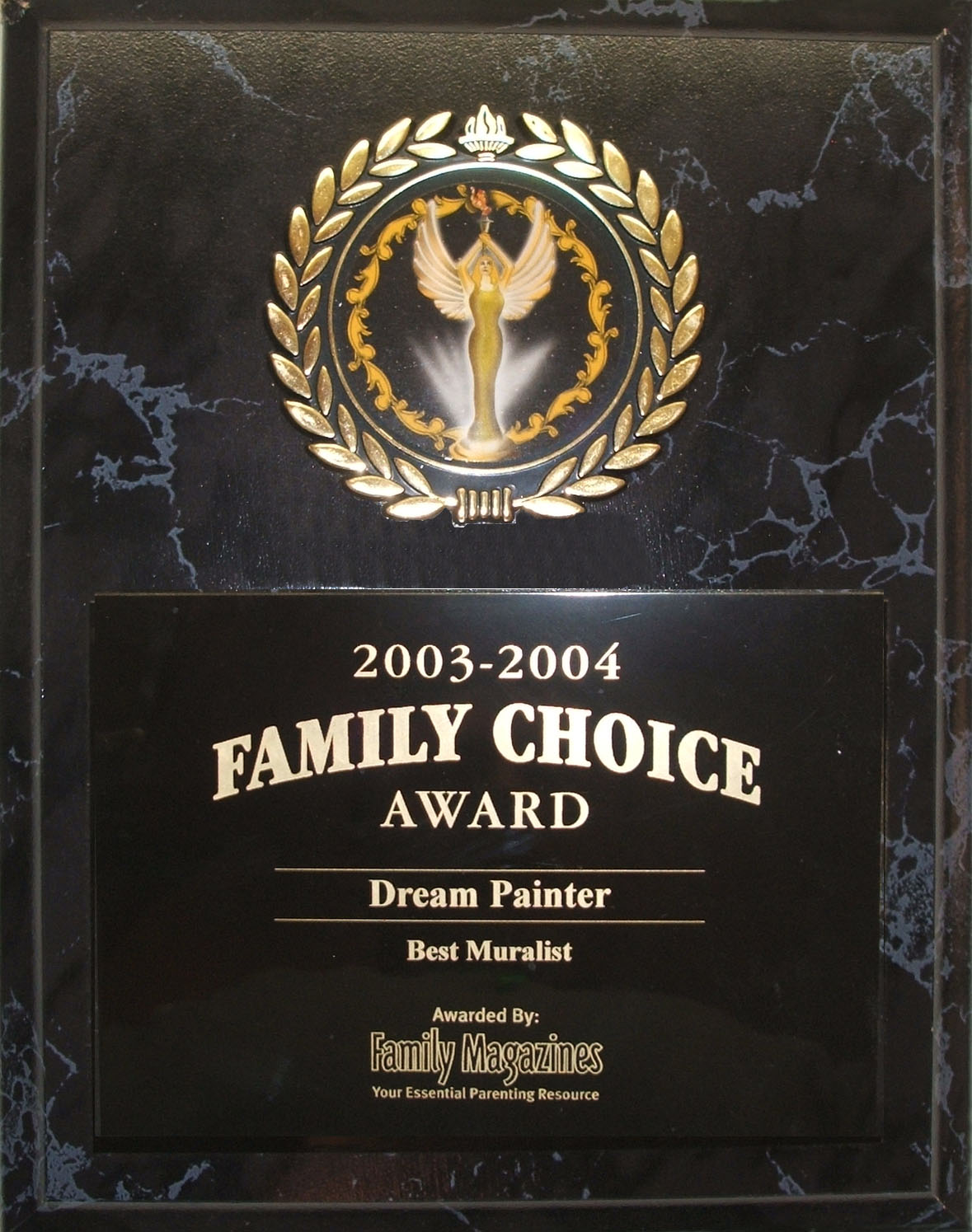 Award by Family Magazines